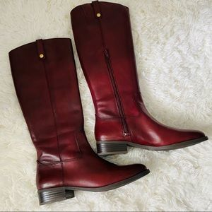 Inc Fawne Riding Boots Size 8